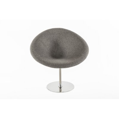 Dimple Papasan Chair Upholstery: Light Grey