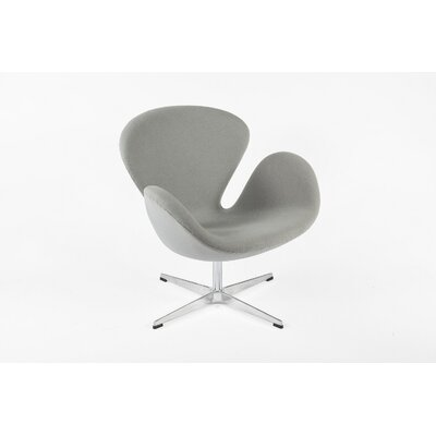 The Roberts Lounge Chair Finish: Grey