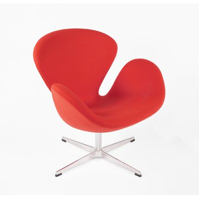 The Roberts Lounge Chair Finish: Red