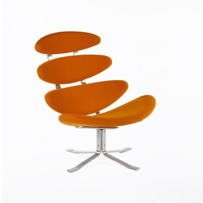 The Madrid Lounge Chair Color: Orange