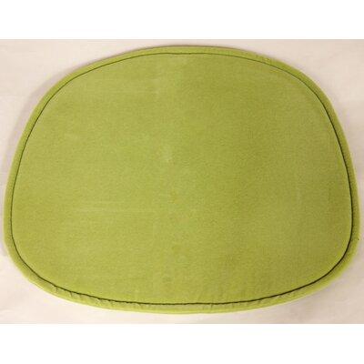 Lounge Chair Cushion Fabric: Green