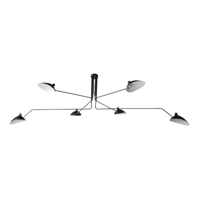 The Nicklas 6-Light Semi Flush Mount