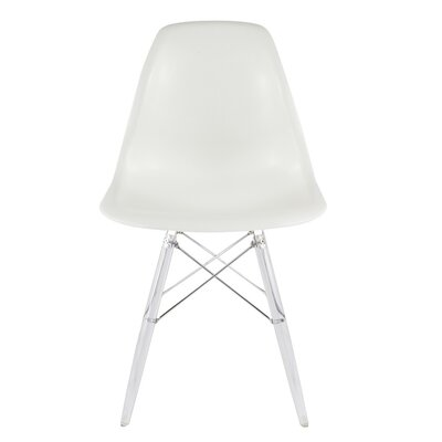 Side Chair Color: White
