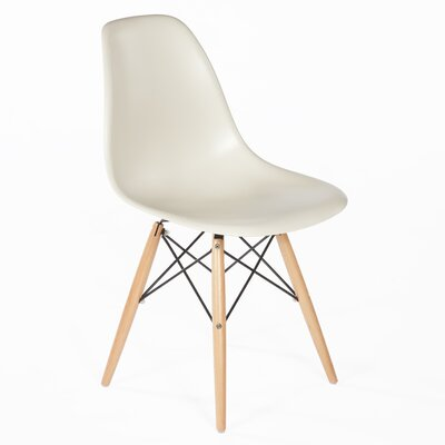 Side Chair Finish: Natural, Color: Brown