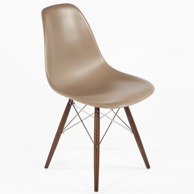 Side Chair Color: Brown, Finish: Walnut