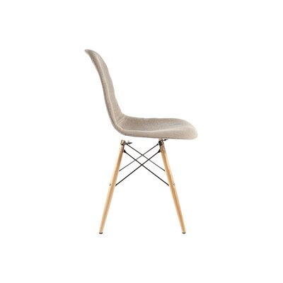 The Ansgar Side Chair Upholstery: Taupe
