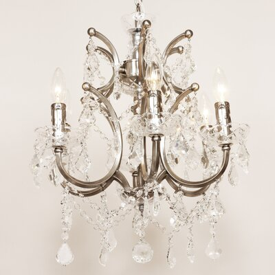 The Vastervik 6-Light Crystal Chandelier