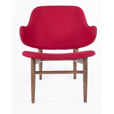 The Cosgrove Arm Chair Color: Red