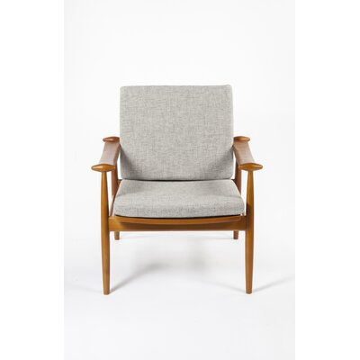 Perm Arm Chair Upholstery: Grey