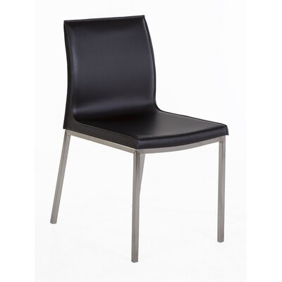 Forlanini Genuine Leather Upholstered Dining Chair