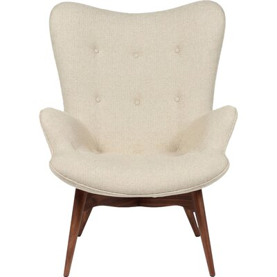 The Teddy Bear Armchair Upholstery: Beige