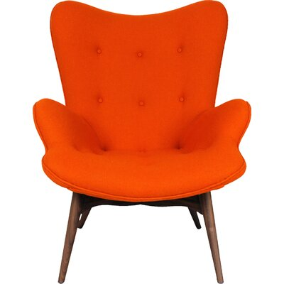 The Teddy Bear Arm Chair Color: Orange