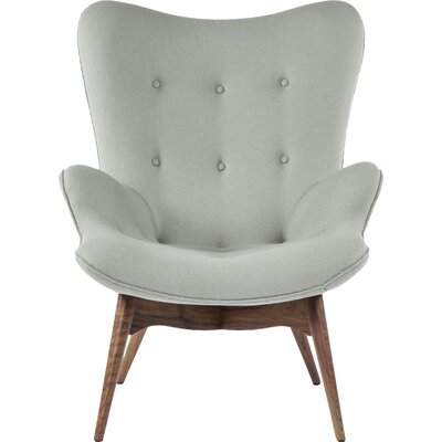 The Teddy Bear Armchair Upholstery: Grey
