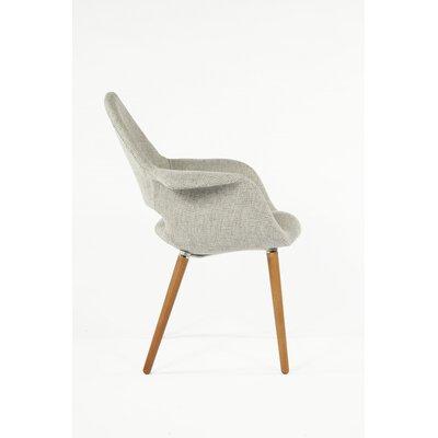 Organic Armchair Upholstery: Grey