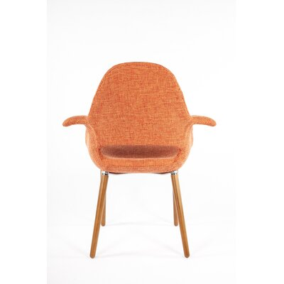Organic Armchair Upholstery: Orange
