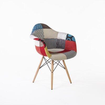 Patchwork Mid Century Armchair
