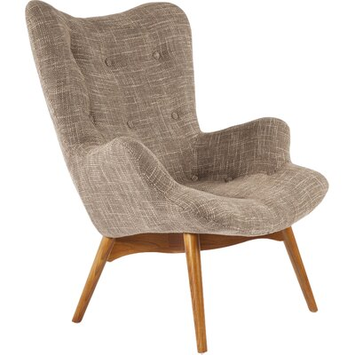 The Teddy Bear Armchair Upholstery: Brown