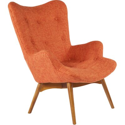 The Teddy Bear Armchair Upholstery: Orange