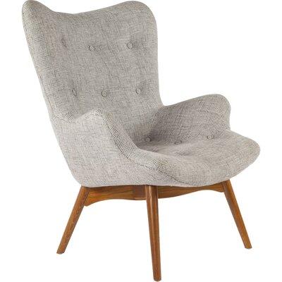 The Teddy Bear Arm Chair Color: Grey