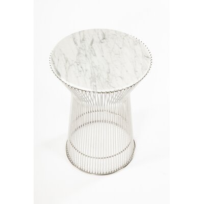 Fishburne Marble End Table