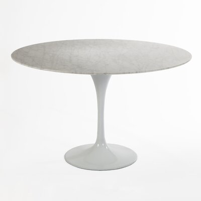 Marble Dining Table Size: 54 L x 54 W
