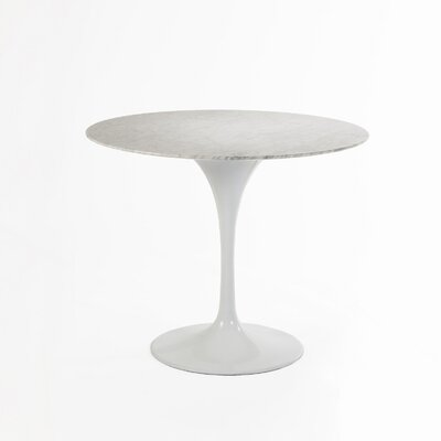 Marble Dining Table Size: 36 L x 36 W