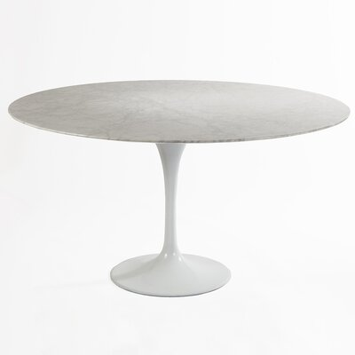 Marble Dining Table Size: 54'' L x 54'' W