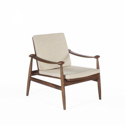 The Redford Armchair Color: Beige