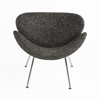 The Slice Chair Upholstery: Black