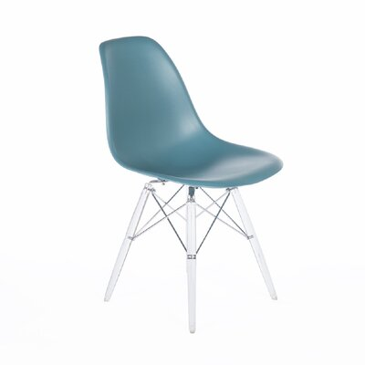 Side Chair Color: Navy Green