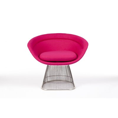 The Pella Papasan Chair Upholstery: Rose