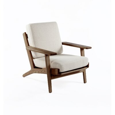 The Klum Arm Chair Finish: Walnut