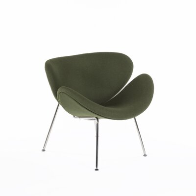 The Slice Chair Color: Dark Green