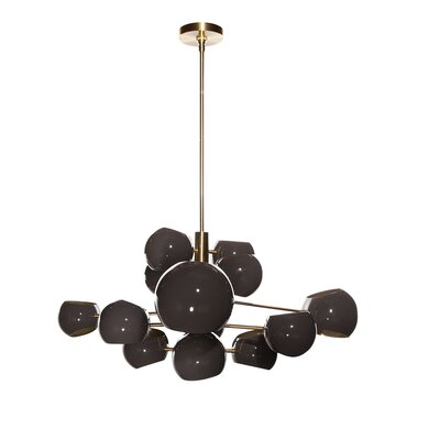 Sprudle 13-Light Sputnik Chandelier