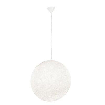 Chaos Globe Pendant Size: 50.5 H x 23.63 W x 23.63 D