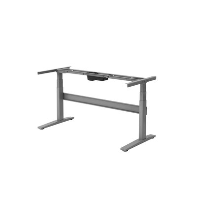 Rise Up Desk Base Finish: Gray