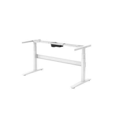 Rise Up Desk Base Finish: White