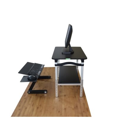 LIFT Standing Desk Conversion Unit Finish: Black