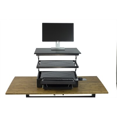 8.5 H x 27.5 W Standing Desk Conversion Unit