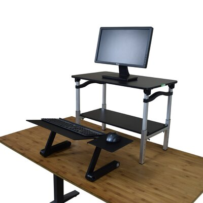 LIFT 20 H x 26.5 W Standing Desk Conversion Unit Finish: Black
