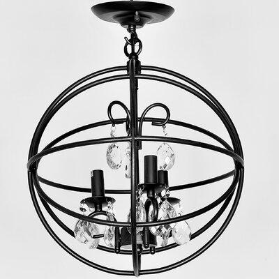 Deimos 3-Light Globe Pendant