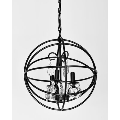 Phobos 3-Light Globe Pendant