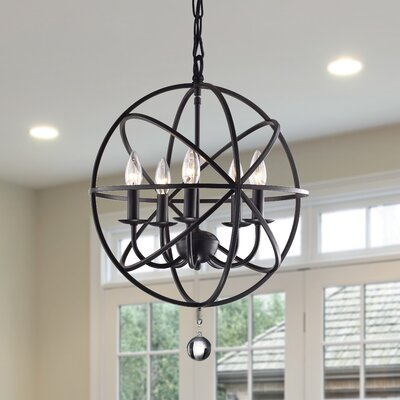 Albano 5-Light Foyer Pendant