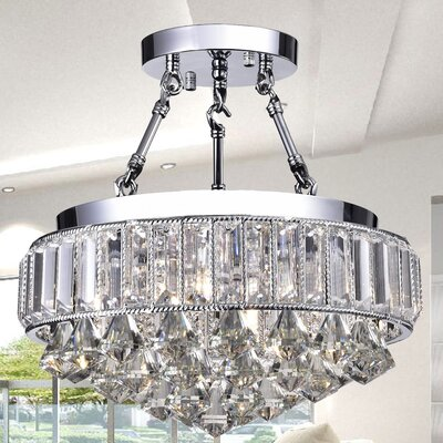 Themis 4-Light Semi-Flush Mount