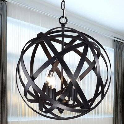 Clymene 4-Light Foyer Pendant