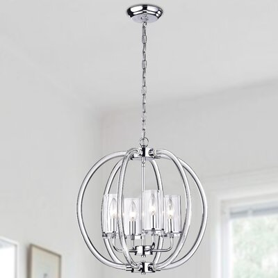Rhea 4-Light Foyer Pendant
