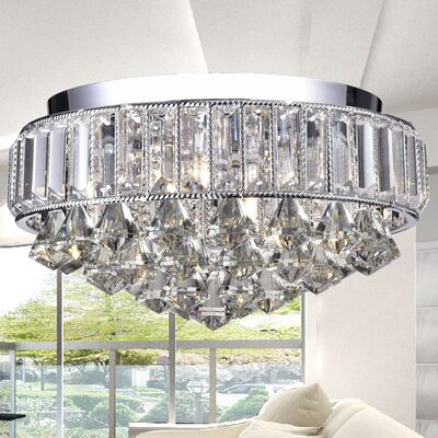 Theia 4-Light Flush Mount