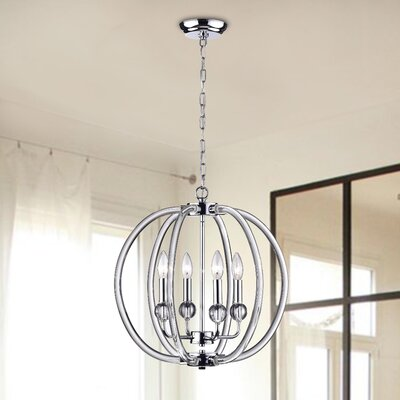 Cirus 4-Light Foyer Pendant