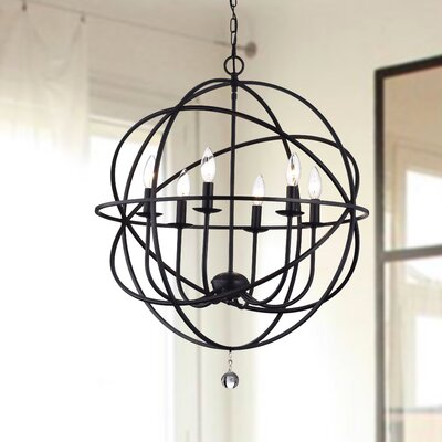 Eastbourne 6-Light Globe Pendant