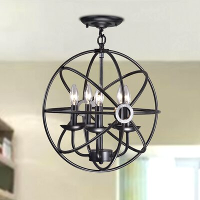 Millay 4-Light Globe Pendant